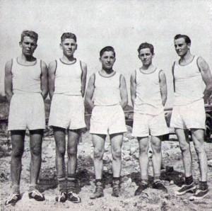 Faustballmannschaft aus dem Jahre 1953