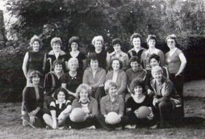 Gymnastikabteilung aus dem Jahre 1978