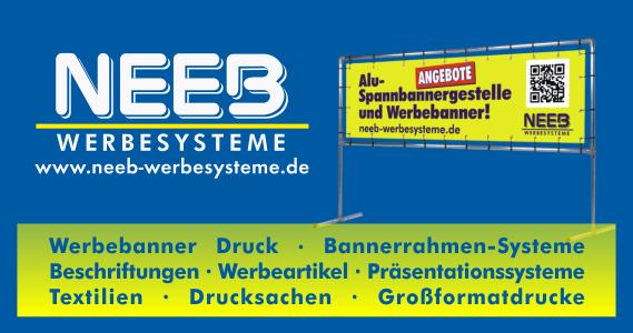 Neeb Werbesysteme in Hammelburg und Hildburghausen